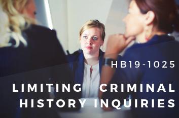 limiting criminal history inquiries