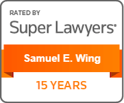Super Lawyers - Samuel E. Wing