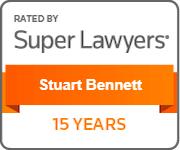 Stuwart Bennett - Super Lawyers for 15 Years
