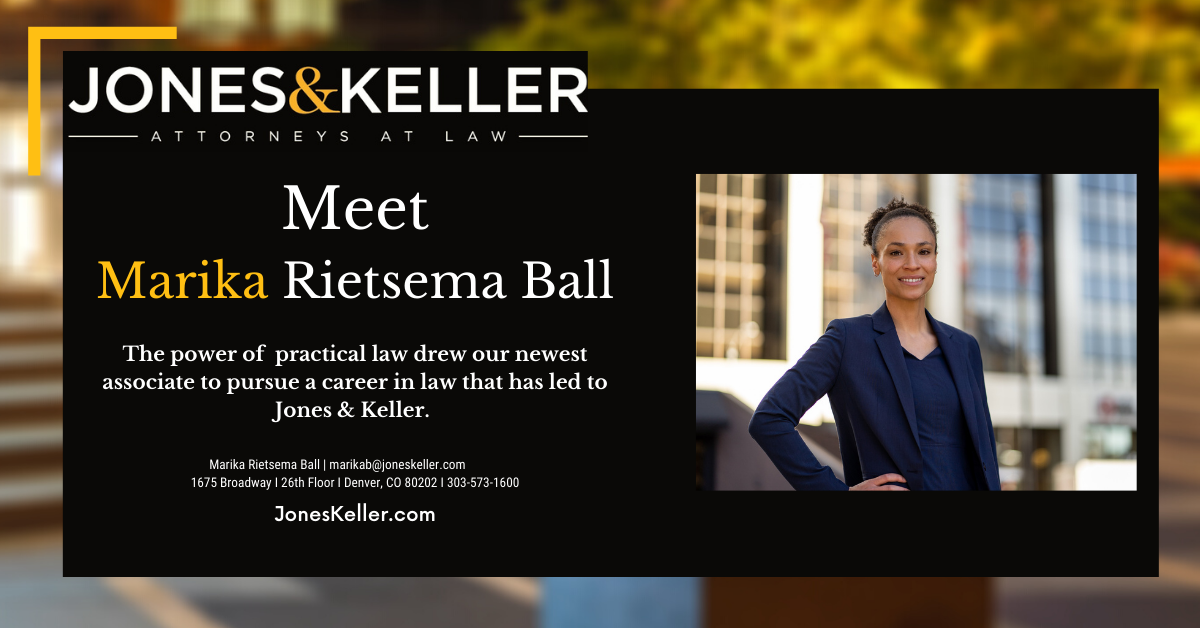 To meet Marika Rietsema Ball, our newest associate, in her own words by video