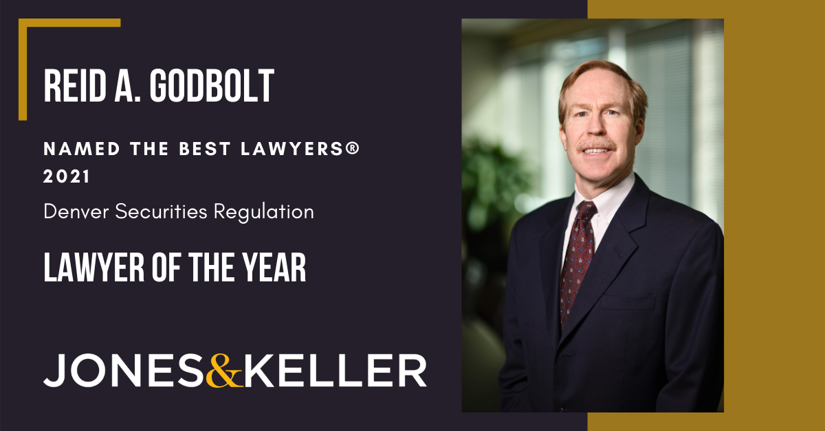 Photo of Reid Godbolt, who is named Best Lawyer Securities