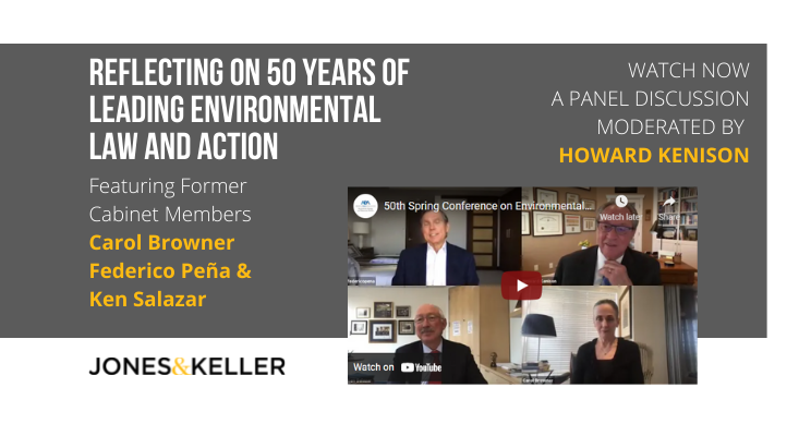 Youtube cover of panel with former Cabinet members and Howard Kenison