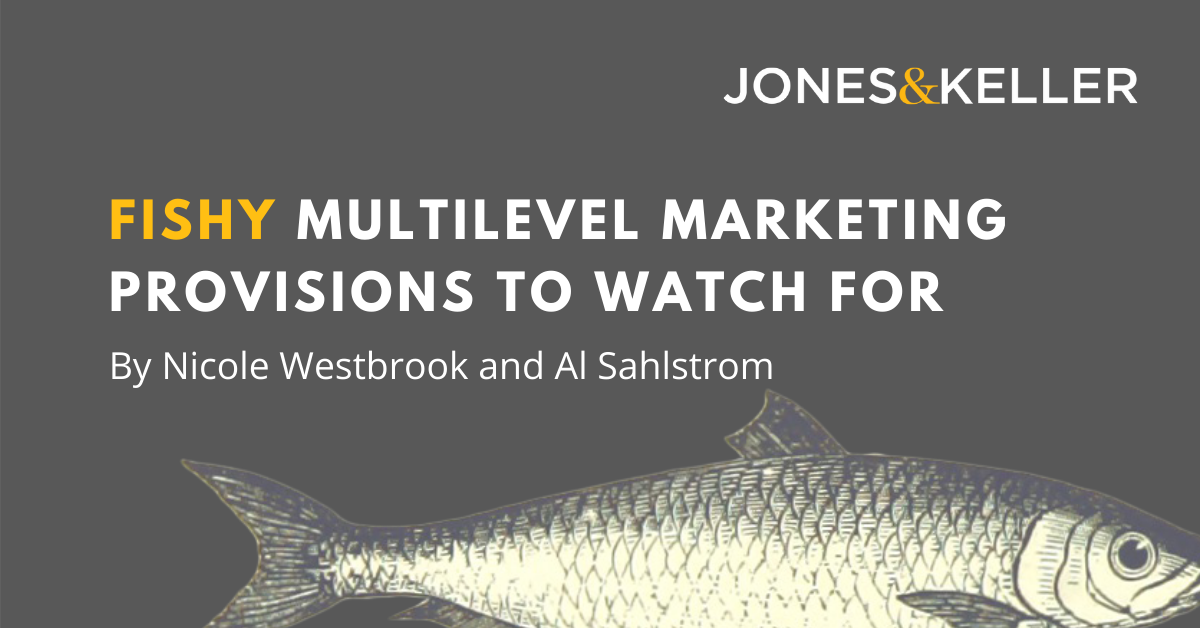 A fish to watch for in MLM marketing