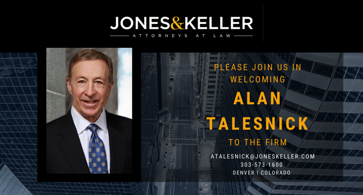 Photo of Alan Talesnick with background photo of Denver